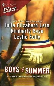 REVIEW:  Boys of Summer by Julie Leto, Kimberly Raye & Leslie Kelly
