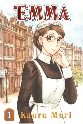 REVIEW:  Manga review: Emma: A Victorian Romance by Kaoru Mori