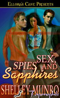 REVIEW:  Sex, Spies and Sapphires by Shelley Munro