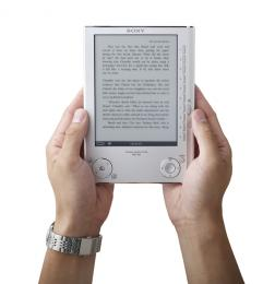 Sony's Debuts Updated EBook Reader