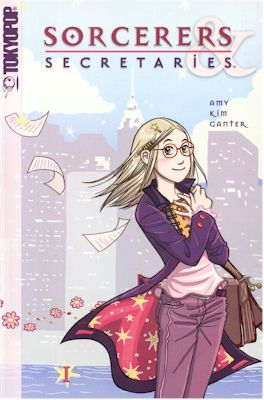 REVIEW:  [Manga] Writers and Romance: Sorcerers and Secretaries by Amy Kim Ganter
