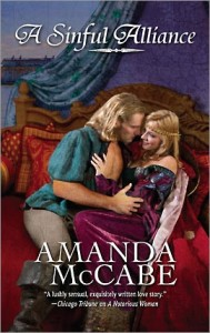 REVIEW: A Sinful Alliance by Amanda McCabe