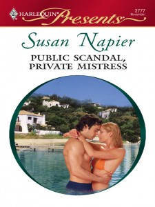REVIEW:  Public Scandal, Private Mistress by Susan Napier