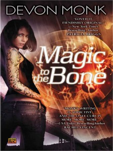 REVIEW:  Magic to the Bone by Devon Monk