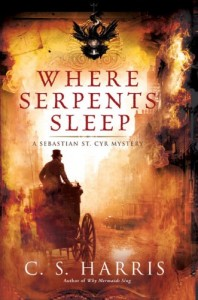 REVIEW:  Where Serpents Sleep by C.S. Harris