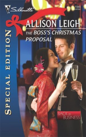REVIEW:  The Boss's Christmas Proposal by Allison Leigh