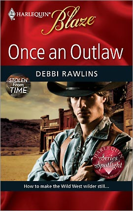 REVIEW: Once an Outlaw by Debbi Rawlins