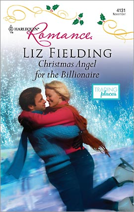REVIEW:  Christmas Angel for the Billionaire by Liz Fielding
