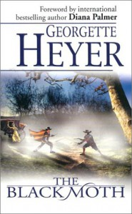 Cover image for Black Moth by Georgette Heyer