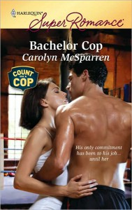 Cover image of Bachelor Cop by Carolyn McSparren