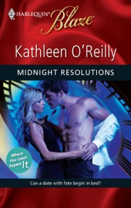 Midnight Resolutions cover by Kathleen O'Reilly