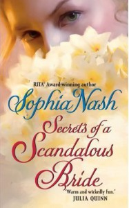 Cover image of Secrets of a Scandalous Bride by Sophia Nash