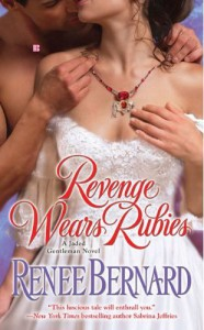 Cover image of Revenge Wears Rubies by Renee Bernard