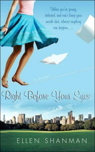 Right Before Your Eyes Ellen Shanman
