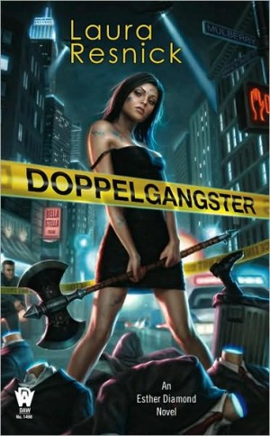 REVIEW: Doppelgangster by Laura Resnick