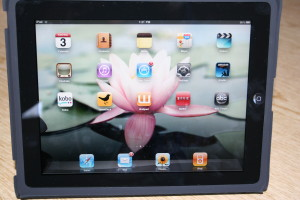 iPad inside