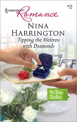 REVIEW: Tipping the Waitress with Diamonds by Nina Harrington