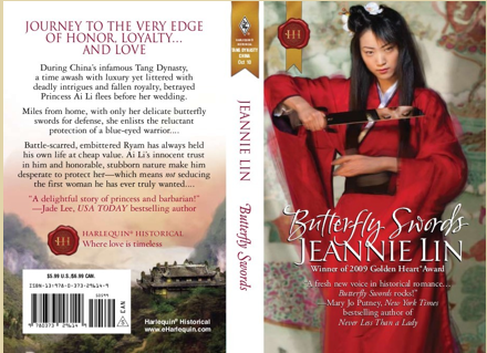 Jeannie Lin Butterfly Swords