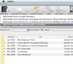 Dear Jane: Can I use Calibre to manage my paper books?