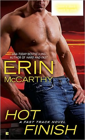 GIVEAWAY: Hot Finish by Erin McCarthy