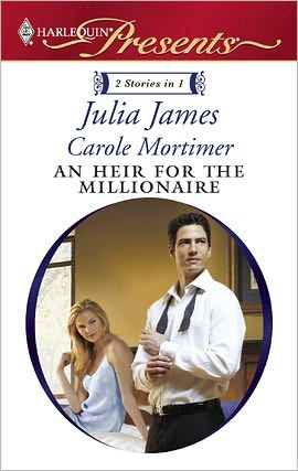 REVIEW:  An Heir for the Millionaire by Julia James and Carole Mortimer