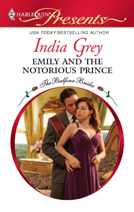 REVIEW:  Emily and the Notorious Prince by India Grey