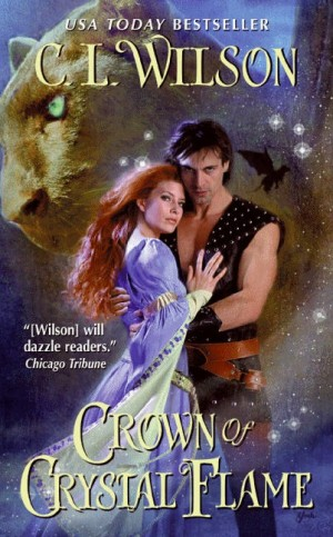REVIEW: Crown of Crystal Flame by C.L. Wilson