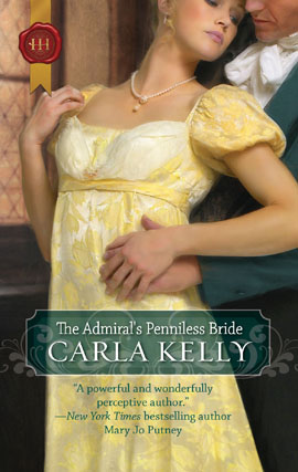 REVIEW: The Admiral's Penniless Bride by Carla Kelly