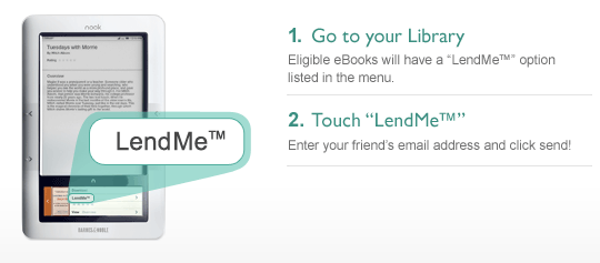 Lend from device nook