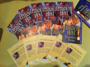 Elizabeth Hoyt's Trading Cards