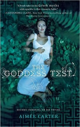 REVIEW: The Goddess Test by Aimee Carter