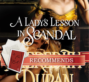REVIEW: A Lady's Lesson in Scandal by Meredith Duran