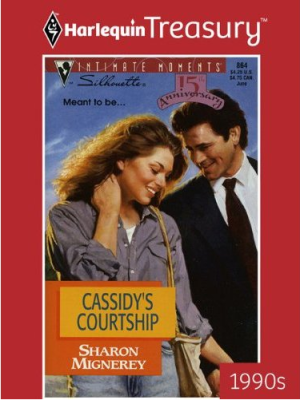 Harlequin Treasury Guest Review: Cassidy's Courtship by Sharon Mignerey