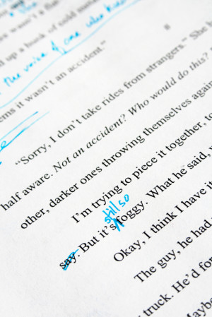 First Page: Unpublished manuscript – Contemporary romance