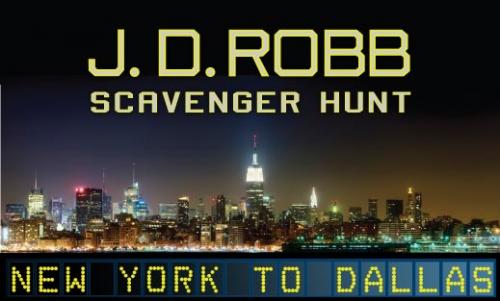 J.D. Robb Scavenger Hunt