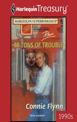 REVIEW: 40 Tons of Trouble by Connie Flynn