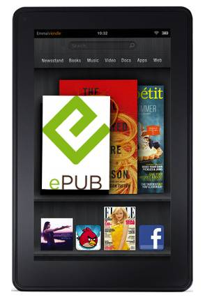 Yes, You Can Read ePubs on the Kindle Fire