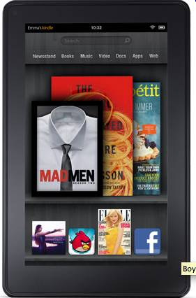 Friday Midday Links: Kindle Fire Driving Down Sales of eInk Devices