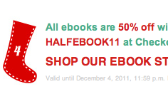 50% off Harlequin eBooks