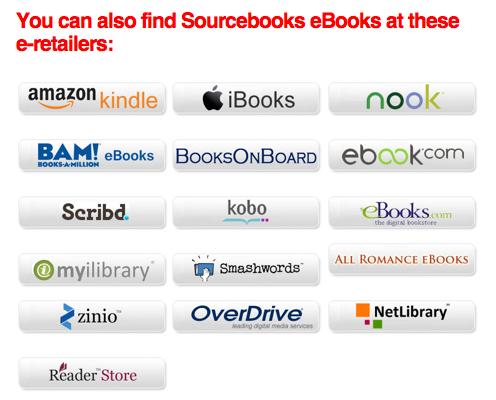 Sourcebooks Retailers