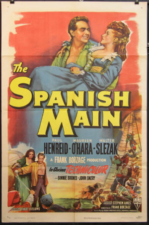 Friday Film Review: The Spanish Main