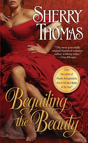 DA May Book Club Pick:  Beguiling the Beauty by Sherry Thomas
