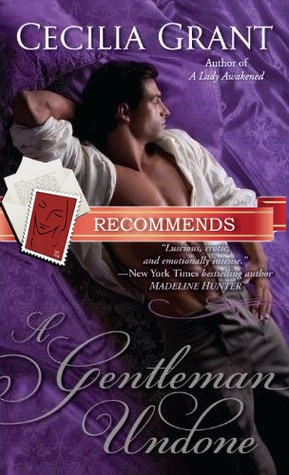 REVIEW:  A Gentleman Undone by Cecilia Grant