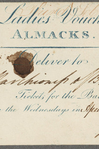 Tuesday Midday News: A real voucher from Almack's, another Macmillan publisher goes DRM free,
