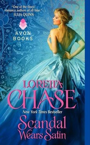 REVIEW:  Scandal Wears Satin by Loretta Chase