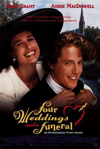 Friday Film Review: Four Weddings and a Funeral