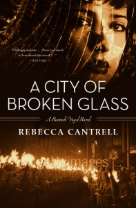 REVIEW:  A City of Broken Glass by Rebecca Cantrell
