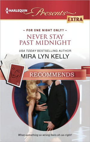 REVIEW:  Never Stay Past Midnight by Mira Lyn Kelly