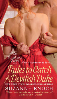 REVIEW:  Rules to Catch a Devilish Duke by Suzanne Enoch