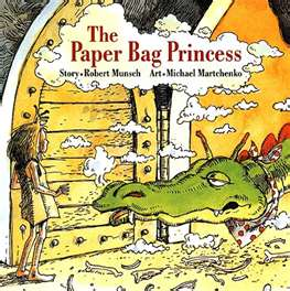 REVIEW:  The Paper Bag Princess by Robert Munsch
